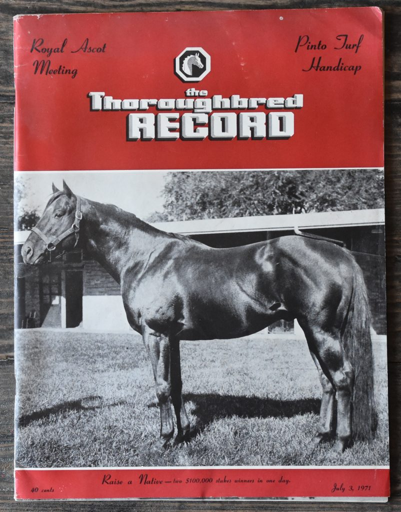Raise A Native by Native Dancer out of Raise You sired both Mr. Prospector and Alydar.